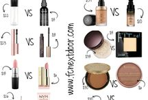 real vs Dupes make up