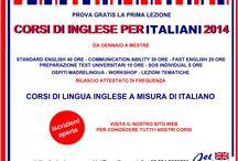 Corsi di Inglese per Italiani 2014 / ISCRIZIONI APERTE AI CORSI DI INGLESE PER ITALIANI 2014. DA GENNAIO 2014 A MESTRE PRIMA LEZIONI GRATUITA!