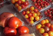 All things tomatoes! / Heirloom Tomatoes: large, medium, small, round, oblong and lovely!