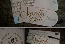stationary / wedding invitations and stationary