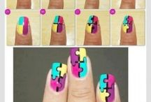 Nails / Hoe je dingen op je nagels moet maken
