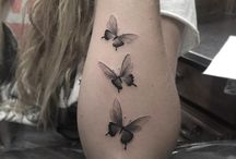 Tattoo vlinders