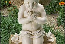 Meu anjo e esculturas em geral