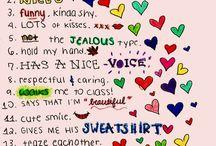 Perfect Boyfriend List