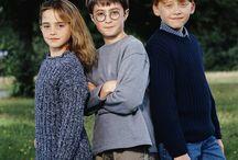Daniel Radcliffe,Rupert Grint and Emma Watson