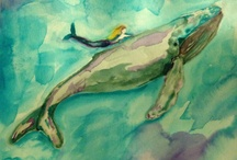 watercolor swimmings