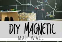 mapa magnético