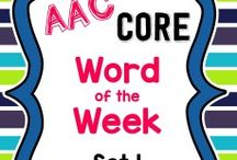SLP: AAC / AAC links and ideas