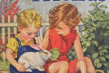 Vintage Illustration for Children / For the love of vintage children's books and the illustration of them