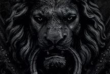 Lion door knocker - test