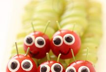Tiere aus Obst und Gemüse