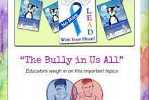 "No More Bullying / CritterKin four kinds of programs to help kids learn kindness and deal with bullying. All are based on ""Lead with Your Heart,"" the third book in the CritterKin series. Click on the pins below to learn more!"