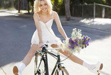 à vélo !!!!