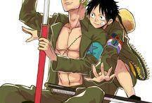 Zoro x Luffy