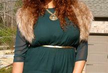 Inspiratie. Big Size / Outfits voor dames met grotere maten