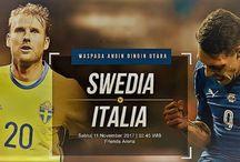 Prediksi Swedia vs Italia 11 November 2017