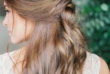 wedding hair styles / Inspiration for wedding hair styles. Photoshoots, bridal shoots, engagement shoots.