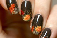 autumn nails ❤