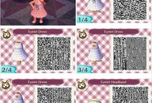 Animal Crossing vestidos