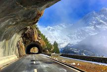Schweizer Alpen-Pässe