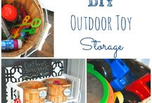 Outdoor Play Space / by Laura The Toy Tattler