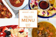Paleo Freezer Menu August 2015 / by Once A Month Meals