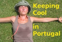 Keeping cool in summer hot days in Portugal
