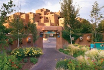 """a travel guide - Santa Fe / The motto for Santa Fe is """"The City Different"""" and you will discover that different makes this New Mexican town one of the most enchanting and colorful places on earth."""