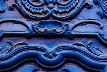 blue / by Lori Clinton