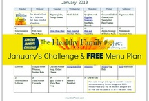 Menu Planning and Food Ideas