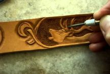 Leather Work / Leather tooling and such