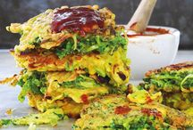 FOOD: Veg: Cabbage fritters