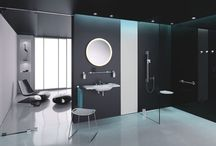 Inclusive Bathroom Design / Inclusive Bathroom Design Due to the increasingly ageing society, accessibility is no longer a minority topic, the demand for inclusively designed bathroom products looks set to grow. You can have good design with product that ultimately serves a purpose rather than just 'looking good' to create a great space for all ages.