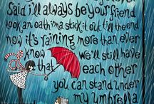 Rainy Days and Monday / Boots, Umbrellas,Dancing all In the reain
