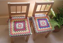happy crochet chair covers