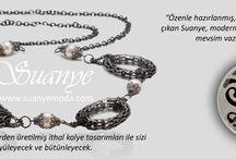 Suanye Aksesuarları / Kaliteli malzemelerden üretilmiş ithal kolye tasarımları