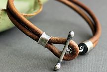Leather Bracelet & Necklace