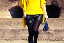 "Fashion&Style: Yellow / by ""Outfit Ideas, by Chicisimo"" Fashion iPhone App"