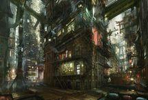 Sci-Fi places