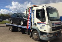 Vehicle Recovery / Vehicles in which benefited from Bradbury Roadside Assistance and Recovery