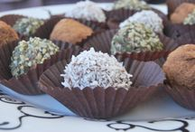 'Happy Easter' Raw Vegan Almond Truffles