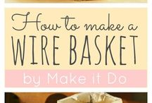 wire basket diy