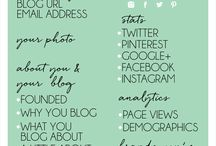 How to Create the Perfect Media Kit / How to create the perfect media kit for your blog or website so companies know who you are, and why they want to work with you. #blogging #business