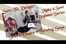 Make It Sew - a Beginner's & Intermediate Sewing Series