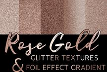 Glitter & foil textures for digital scrapbooking