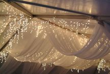 WEDDING & EVENT CEILING DRAPING, LIGHTING & BACKDROPS / Sales & Rentals of Extraordinary Wedding & Event Decor. Serving Kamloops and the B.C. Interior, Canada. www.AglowWeddings.com / by AGLOW BRIDAL LOUNGE