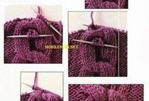 tehnică de lucru tricotat