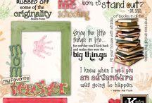 Rhonda's Homeschool Digital Scrapbooking by Kathryn Estry