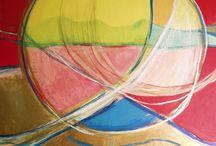 50 years of Spiritual Art / Spiritually based paintings done over the last 50 years.