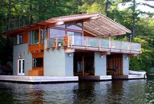 Houseboat- I want to live on one one day  / Where my life is headed :)